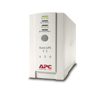 Фото ИБП APC Back-UPS CS 650VA — BK650EI