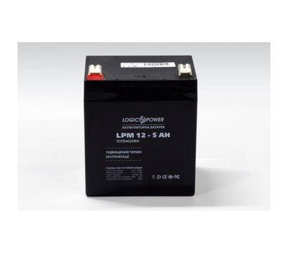 Фото аккумулятора LogicPower LPM 12-5.0 AH
