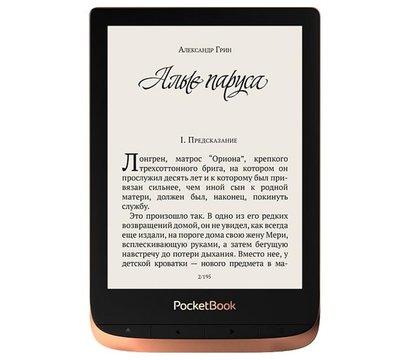 Ôîòî ¹1 ýëåêòðîííîé êíèãè PocketBook 632 Touch HD 3 Copper — PB632-K-CIS