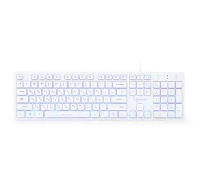 Фото №1 клавиатуры Gembird KB-UML3-01-W-RU USB White