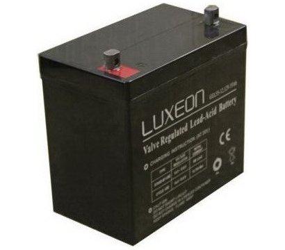 Фото аккумулятора Luxeon LX 12-65MG, 12В, 65.0 Ач