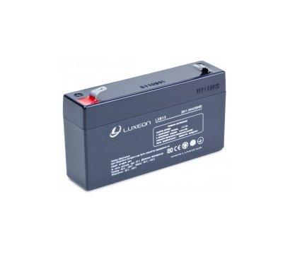 Фото аккумулятора Luxeon LX 613, 6В, 1.3 Ач