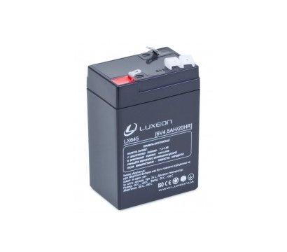 Фото аккумулятора Luxeon LX 645, 6В, 4.5 Ач