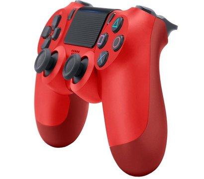 Ôîòî ¹1 ãåéìïàäà Sony PS4 Dualshock 4 V2 Magma Red — 9894353