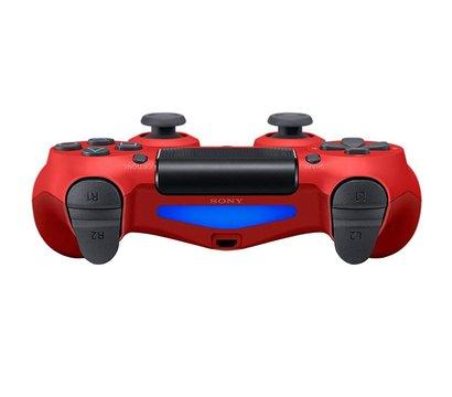 Ôîòî ¹2 ãåéìïàäà Sony PS4 Dualshock 4 V2 Magma Red — 9894353
