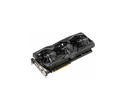 Фото №2 видеокарты Asus AMD Radeon RX 560 Strix Gaming (8192MB, GDDR5, 128bit) — ROG-STRIX-RX590-8G-GAMING
