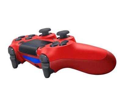 Ôîòî ¹3 ãåéìïàäà Sony PS4 Dualshock 4 V2 Magma Red — 9894353