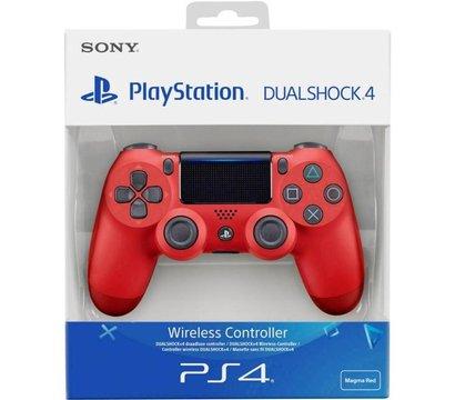 Ôîòî ¹4 ãåéìïàäà Sony PS4 Dualshock 4 V2 Magma Red — 9894353