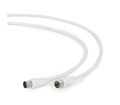 Фото товара Cablexpert 75 Ом, White, 1.8 м - CCV-515-W