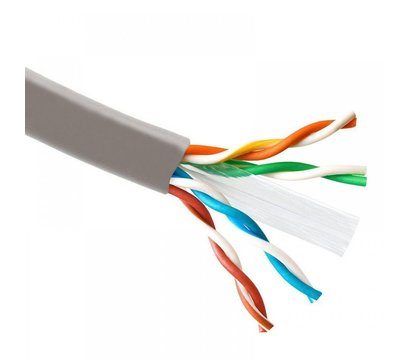 Фото кабеля ATcom UTP 6 4х2х0,51 CCA внутр. (ал+медь) 305м