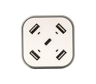 Фото №1 зарядного устройства PowerPlant SC230112 White