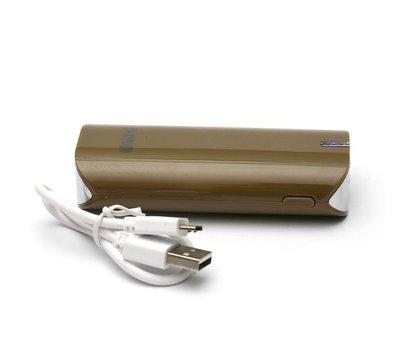 Фото №1 универсальной мобильной батареи PowerPlant PB-LA9005 5200mAh Brown