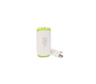 Фото №2 универсальной мобильной батареи PowerPlant PB-LA9210 5200mAh White/Green