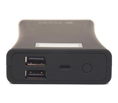 Фото №3 универсальной мобильной батареи PowerPlant 15600mAh Black