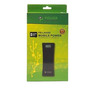 Фото №5 универсальной мобильной батареи PowerPlant 15600mAh Black