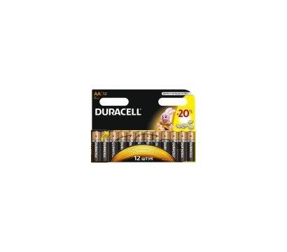 Фото батарейки Duracell Basic AA/LR06 BL 12шт