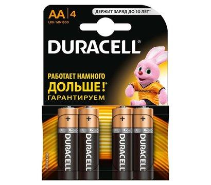 Фото батарейки Duracell Basic AA/LR06 BL 4шт