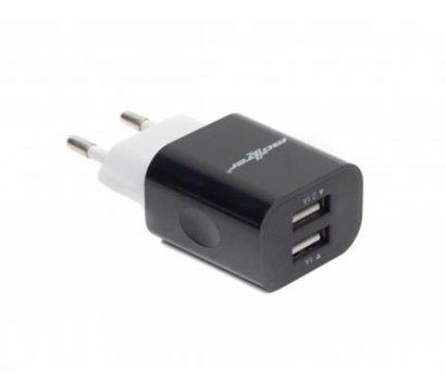 Фото зарядного устройства Maxxter UC-22A Black