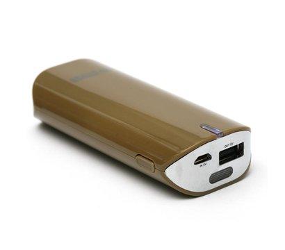 Фото универсальной мобильной батареи PowerPlant PB-LA9005 5200mAh Brown