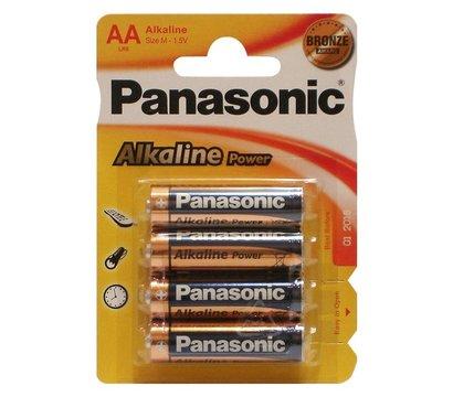 Фото батарейки Panasonic Alkaline Power AA/LR06 BL 4 шт