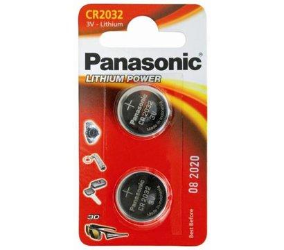 Фото батарейки Panasonic CR-2032EL/2B, CR 2032