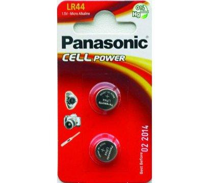 Фото батарейки Panasonic LR44 BL 2 шт
