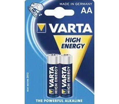 Фото батарейки Varta High Energy AA/LR06 BL 2шт