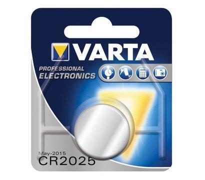 Фото батарейки Varta Prof. Specialty CR 2025 BL 1шт