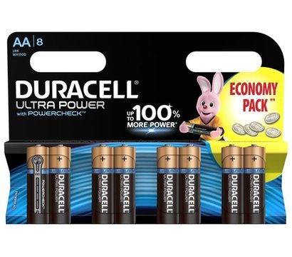 Фото батарейки Duracell Ultra Power AA/LR06 BL 8шт