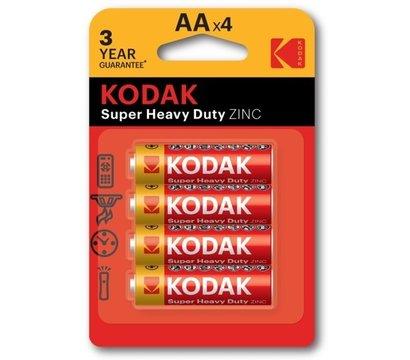Фото батарейки Kodak Super Heavy Duty AA/LR06 BL 4шт