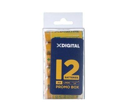 Фото батарейки X-Digital AA/LR06 Box 12 шт