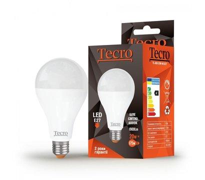 Фото светодиодной LED лампы Tecro TL-A80-20W-4K-E27