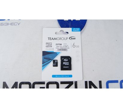 Фото №1 карты памяти Team SDHC Class 10 16GB + adapter - TUSDH16GCL1003