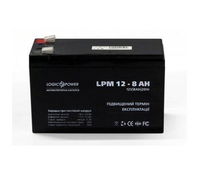 Фото аккумулятора LogicPower LPM 12-8.0 AH