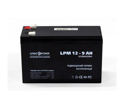 Фото аккумулятора LogicPower LPM 12-9.0 AH