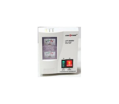 Фото стабилизатора напряжения LogicPower LPT-W-500RV (black)