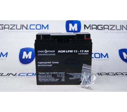 Фото аккумулятора LogicPower LPM 12-17 AH