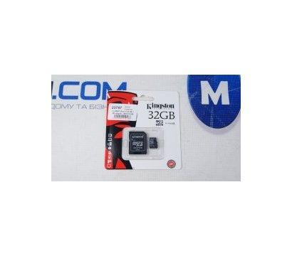 Фото №1 карты памяти Kingston SDHC Class 4 32 GB + SD-adapter - SDC4/32GB