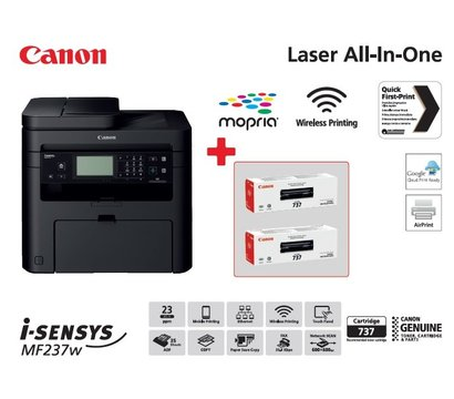 Фото №1 оргтехники Canon i-SENSYS MF237w + Wi-Fi — 1418C162AA
