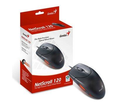 Фото №3 компьютерной мышки Genius NS-120 USB Black — 31010235100