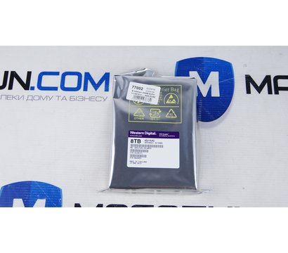 Фото №2 жесткого диска Western Digital Purple 8TB 5400rpm 256MB Buffer 3.5 SATA III — WD81PURZ