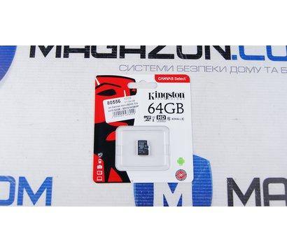 Фото №2 карты памяти Kingston Canvas microSDXC Class10 64GB - SDCS/64GBSP