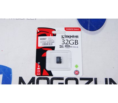 Фото №4 карты памяти Kingston Canvas microSDHC Class10 32GB - SDCS/32GBSP