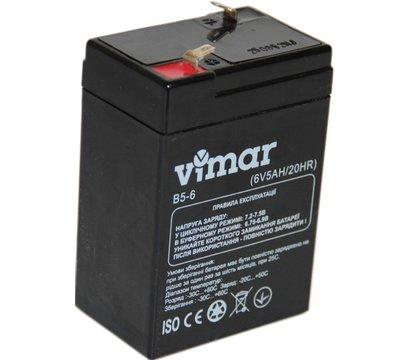 Фото аккумулятора VIMAR B5-6 6В