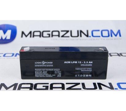 Фото №1 аккумулятора LogicPower LPM 12-2.3 AH