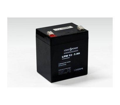 Фото №1 аккумулятора LogicPower LPM 12-5.0 AH