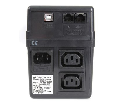 Фото №2 ИБП Powercom BNT-600AР USB