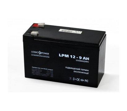Фото №1 аккумулятора LogicPower LPM 12-9.0 AH