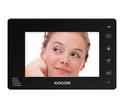 Фото №1 видеодомофона Kocom KCV-A374 monoSD
