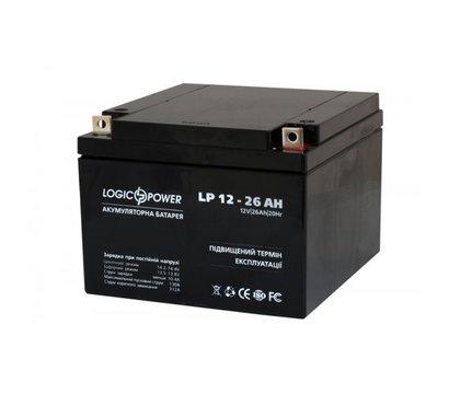 Фото №2 аккумулятора LogicPower LPM 12-26 AH
